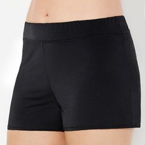 Swimsuits For All Banded Waist Short with brief